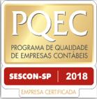 Logo Selo de programa de qualidade de empresas contabeis